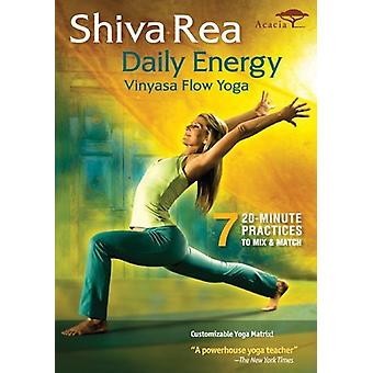 Shiva Rea - Daily Energy Flow [DVD] USA import