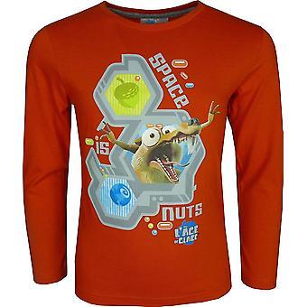 Garçons Ice Age nouveau Design «Age De glace fr 5» manches longues T-Shirt