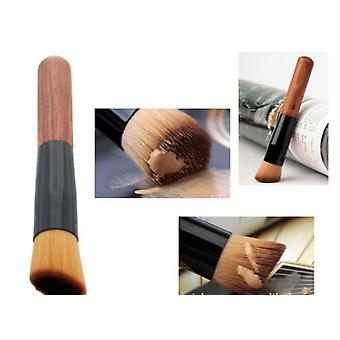 Boolavard Makeup Foundation Powder Brush - Professional Make Up Brush - Cosmetics Tools - Liquid Foundation Brush - Face