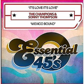 Campeones & Thompson, Sonny - su amor es amor / de la importación de los E.e.u.u. México obligado [CD]
