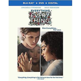 Everything Everything [Blu-ray] USA import