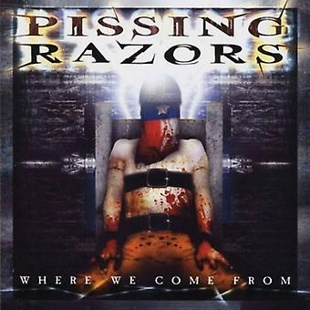 Pissing Razors - Where We Come From [CD] USA import