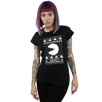 Pacman Women's Christmas Fair Isle T-Shirt