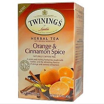 Twinings av London Orange & kanel Spice urtete