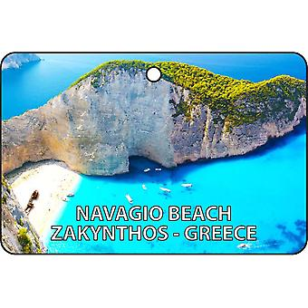 Navgio Beach - Zakynthos - Greece Car Air Freshener