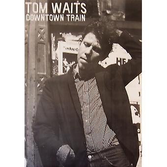 Том Уэйтс города поезд Плакат Плакат Печать