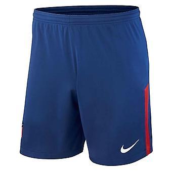 2017-2018 Atletico Madrid Home Shorts Nike Voetbal (blauw)