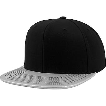 Flexfit Metallic Visor Snapback Cap