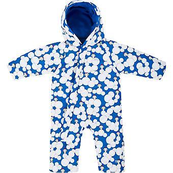 التعدي الرضع الأولاد تيودور مقاومة للماء مبطن Snowsuit الصوف