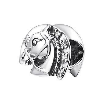 Hest - 925 Sterling sølv Jewelled perler - W25116X