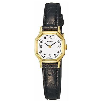 Lorus Womens Watch do couro Strap RPG40BX8