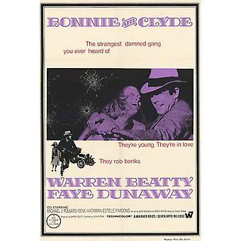 Bonnie y Clyde Movie Poster (11 x 17)