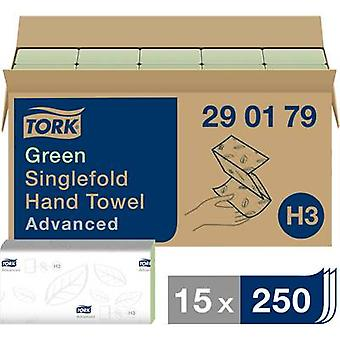 TORK 290179 Zickzack Advanced Paper towels (L x W) 23 cm x 25 cm Green 15 x 250 sheets/pack 3750 pc(s)
