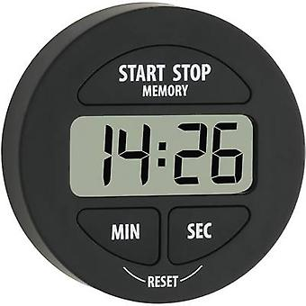 TFA Dostmann 38.2022.01 Timer Black Digital