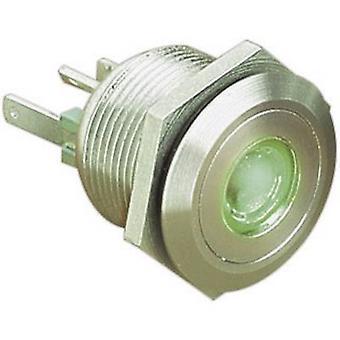 Bulgin MPI001/28/GN-modello pushbutton 24 V DC 0.05 A 1 x Off/(On) IP66 momentaneo 1 pc(s)