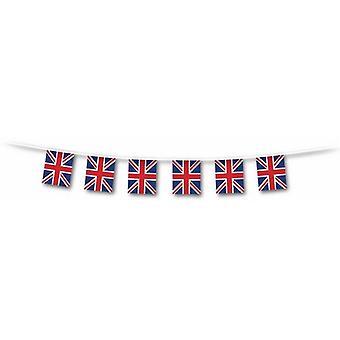 Union Jack Flag Bunting bandiere - 5 metri - 10 - 6