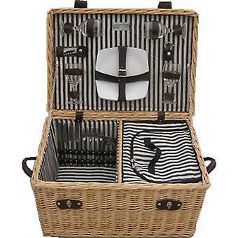 Lancaster ausgestatteter Picknickkorb