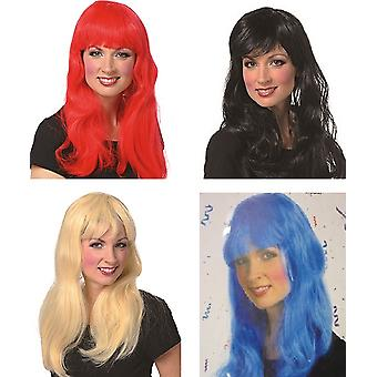 Pony wig ladies long hair wig accessory Carnival Halloween witch