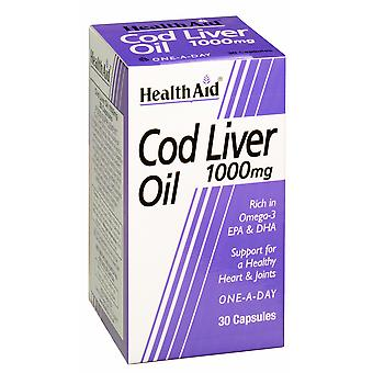 Health Aid Cod Liver Oil 1000mg, 30 Caps