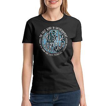 Step Brothers Prestige Worldwide Women's Black T-shirt