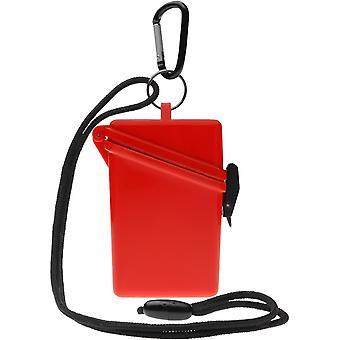 Witz houden het veilige lichtgewicht waterdichte Sport Case - rood
