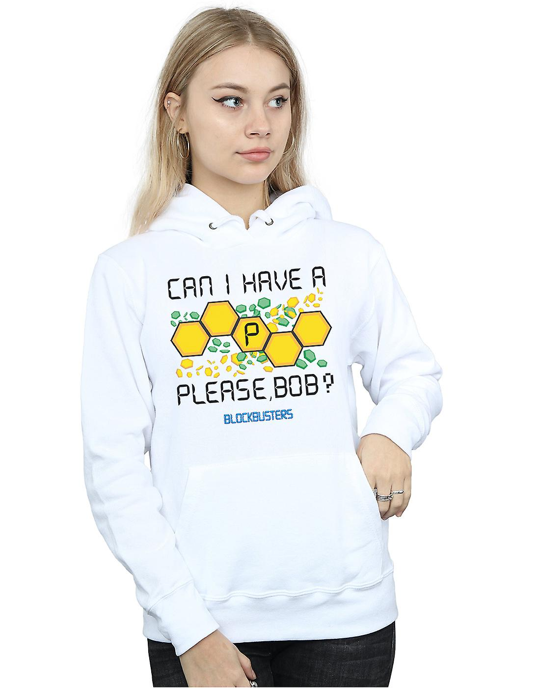Blockbusters Women's Can I Have A P Please Bob? Hoodie