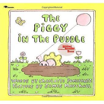 Le cochon dans la flaque d'eau (lecture de livre arc-en-ciel)