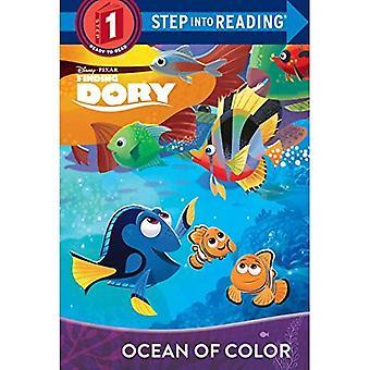 Océan de couleur (Disney/Pixar trouver Dory) (étape dans la lecture - niveau 1 - bibliothèque)