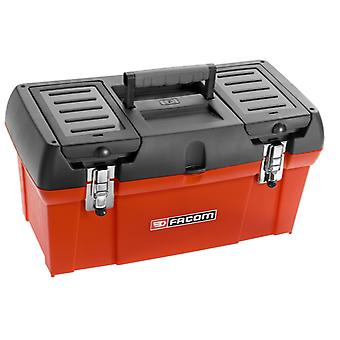 Facom BP.C19 490mm/19in Plastic Tool Box Plastic Removable Tray 2 Storage