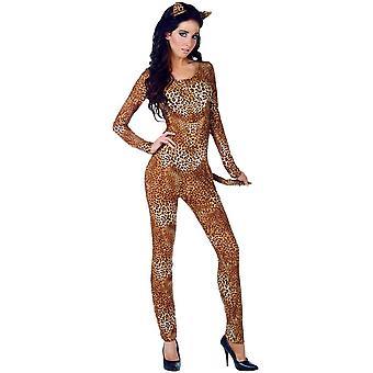 Wild Leopard Adult Costume