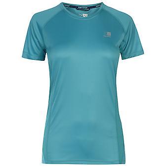 Karrimor Womens Short Sleeved Running T Shirt Ladies Tee Top Breathable