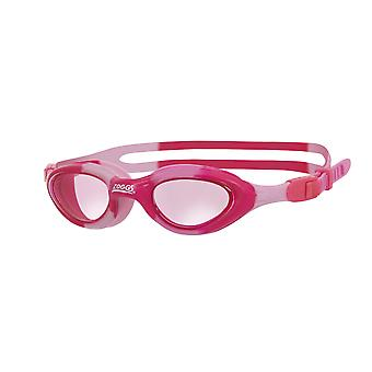 Zoggs Juniors Super Seal Swimming Goggles Pink for 6-14 Years w/ UV Protection