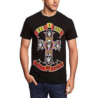 Miesten Guns N ' Roses ruoka halu Destruction T-paita