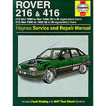 Rover 216 and 416 Service and Repair Manual (3rd Revised edition) by