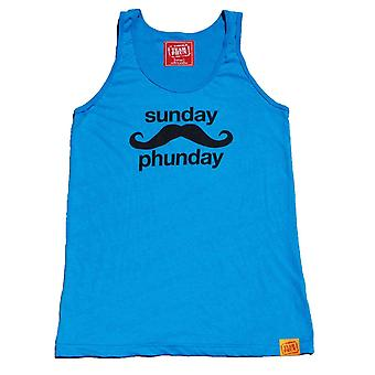 Team phun sunday phunday unisex tank top blue