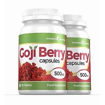 Goji Berry Extrakt 5.000mg hochfeste Kapseln - 120 Kapseln - Antioxidans - Evolution Abnehmen