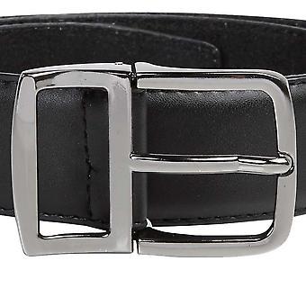 Duke Mens D555 Ashton Kingsize Leather Belt With Metal Keeper