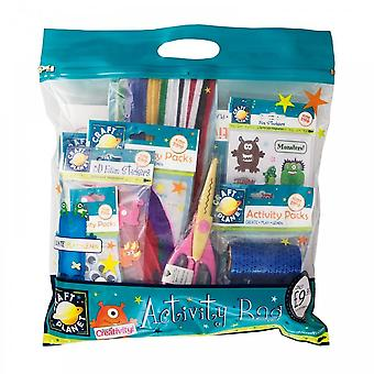 Craft Planet Boys Goody Bag Filled With Assortment Of Crafting Products