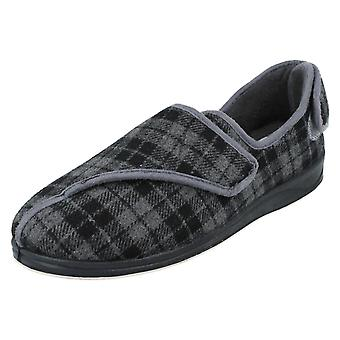 Mens Padders Adjustable Back Slippers Phillip