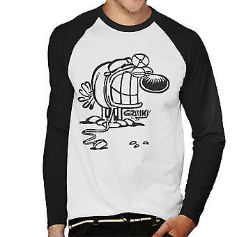 Grimmy Doctor mænds baseball langærmet T-shirt
