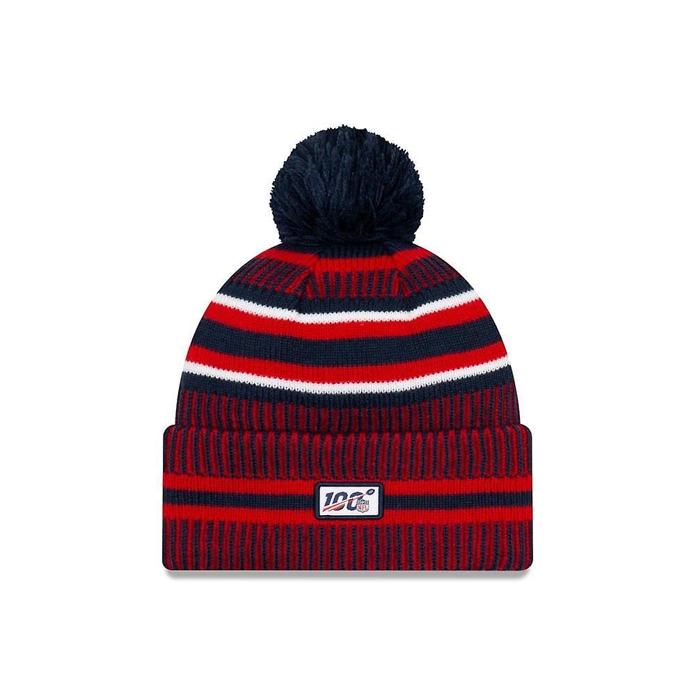 New Era Nfl New England Patriots 2019 Sideline Home Sport Knit