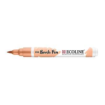 Talens Ecoline Liquid Watercolour Brush Pen - 258 Apricot