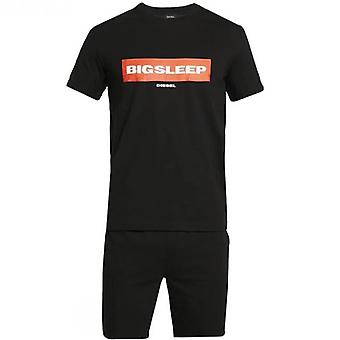 Jake Pyjama Set - Man-Black
