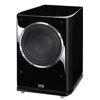 Heco Celan GT sub 322 A active bass reflex subwoofer, piano black, 1 piece new goods