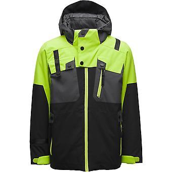 Spyder TORDRILLO Ragazzi Repreve PrimaLoft Ski Jacket Nero