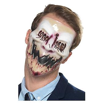 Mens Blood Smile Halloween Face Mask