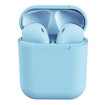 I12 Wireless Headphones-Blue