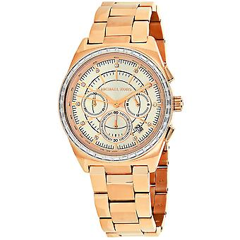 Michael Kors Donne's Vail Rose Gold Dial Watch - MK6422