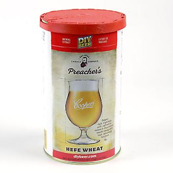 Coopers Preachers Hefe Weizen bier Kit