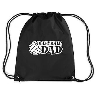 Black backpack fun4190 volleyball dad window or wall